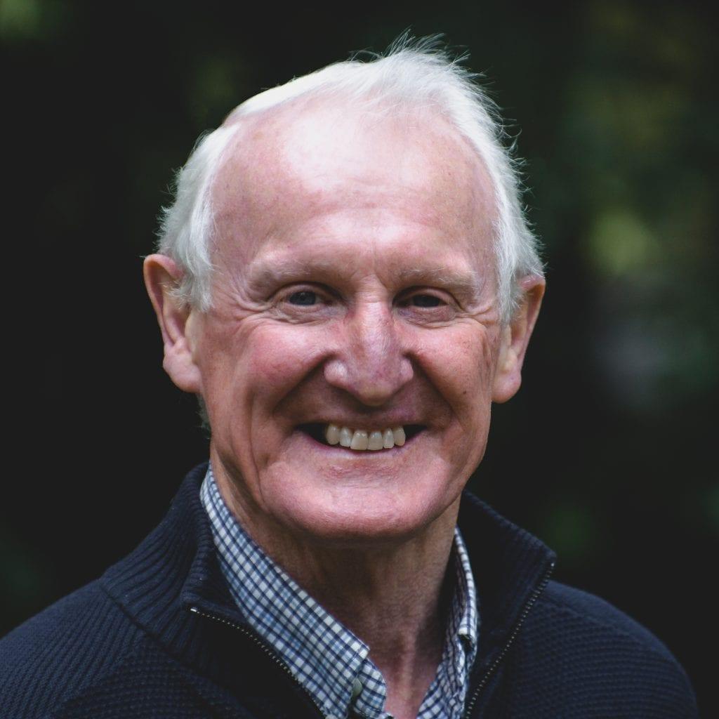 A photo of Gerald, an elder